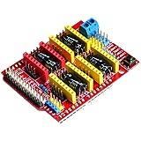 OctagonStar A4988 Driver CNC Shield Expansion Board for Arduino V3 Engraver 3D Printer