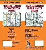 Bloomington / Terre Haute, Indiana Street Map