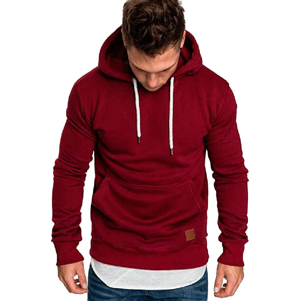 Moginp Men Sweatshirt Hoodie Autumn Winter Style Jumper Casual Long Sleeve Hooded Pullover Blouse Tracksuits 💗 Moginp Long Sleeve men hoodie