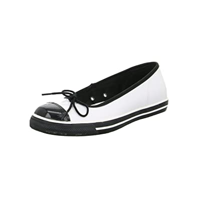 e0c61d14737d Converse All Stars CT Dance Slip Ballet Flats Black Size  7.5 ...