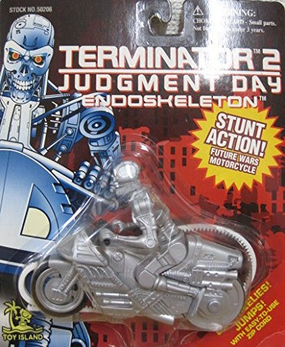 Terminator Endoskeleton Future Wars Motorcycle - Terminator 2: Judgment Day Series