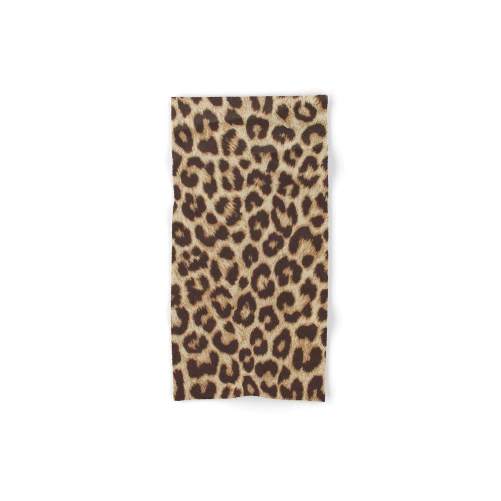 Society6 Leopard Print Hand Towel 30''x15''