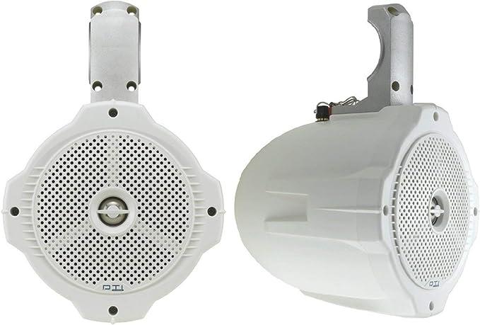 "NEW 6-1//2/"" Marine Full Range Weather proof Speaker.4 ohm.Houseboat.ATV.jet ski"