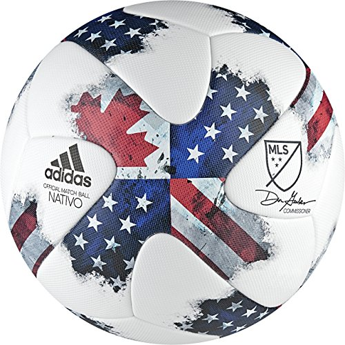 (adidas MLS Official Match Ball [White] (5) )