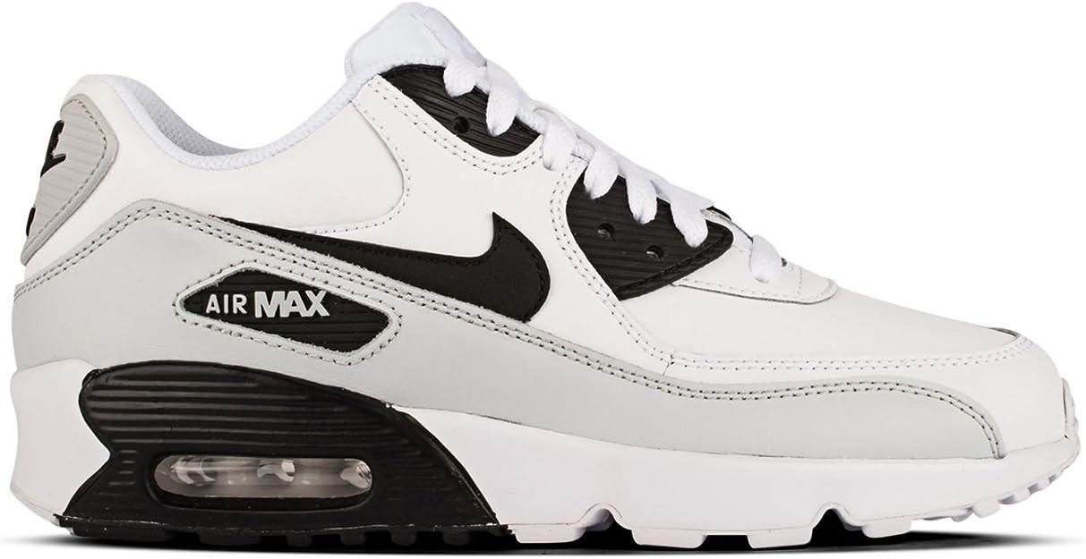 Mareo arena tierra principal  White Shoes Nike Air Max 90 Leather GS 833412-104 35,5 -: Amazon.es: Libros