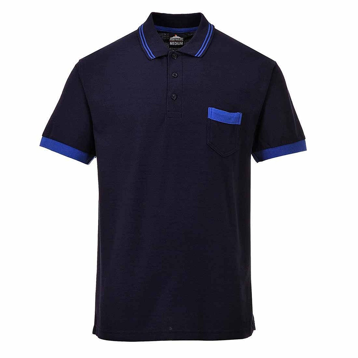 Portwest TX20GRRL Grande Polo en Texo Shirt_P: Amazon.es: Ropa y ...