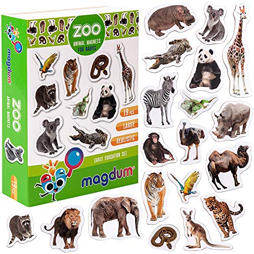 Zoo Magnet - MAGDUM PHOTO ZOO animal magnets for