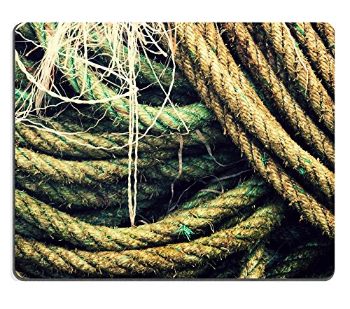 MSD Natural Rubber Gaming Mousepad fishing rope textures with vintage effect IMAGE (Line Sailors Knot)