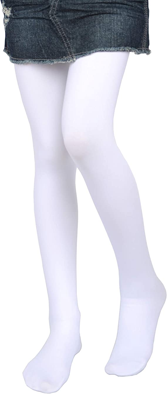 The Childrens Place Girls 3 Pack Microfiber Tights