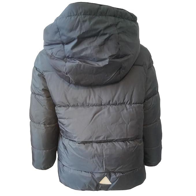 Jungen Anorak Winterjacke Kapuze Outburst anthrazit 3939014