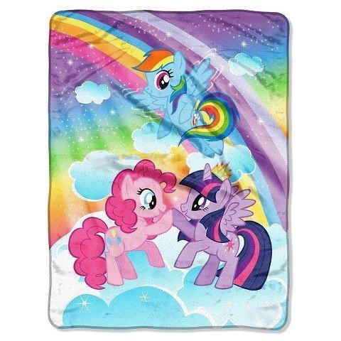(Hasbro My Little Pony Microfleece Throw 46x60 Multicolor)