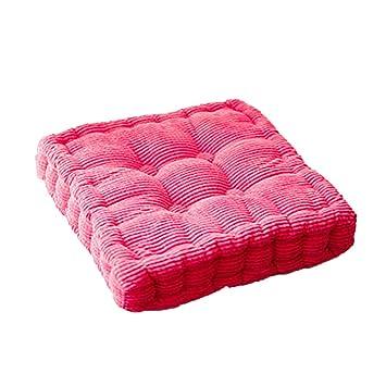 Amazon.com: H.S.D Cojines gruesos para sillas de casa ...