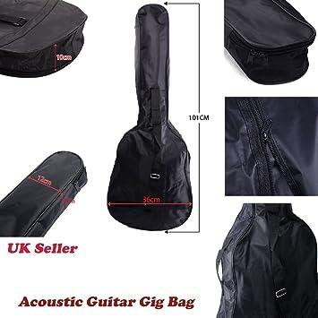 JJOnlineStore - Funda impermeable de 96,5 cm para guitarra. Funda ...