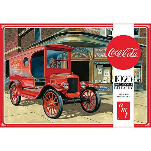 (ROUND 2 LLC 1923 Coke Model T Delivery Truck Assembly Kit w/ Authentic Coca-Cola)