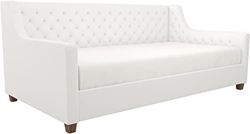 DHP Jordyn Diamond Tufted Upholstered Daybed/ Sofa Bed