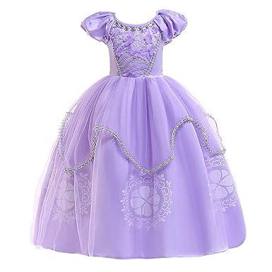 Polp Disfraz Halloween Vestidos Niña Cosplay Princesa Falda