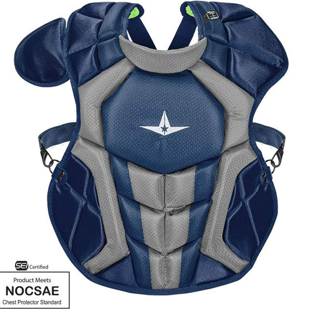 Allstar S7 Axis Chest Protector 12-16 - 15.5'' (Navy/Grey)