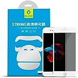 Mica iPhone 8 iPhone 7 Privacidad Cristal Templado Protector de Pantalla 3D Completo Antihuellas Resistente 9H - Blanco