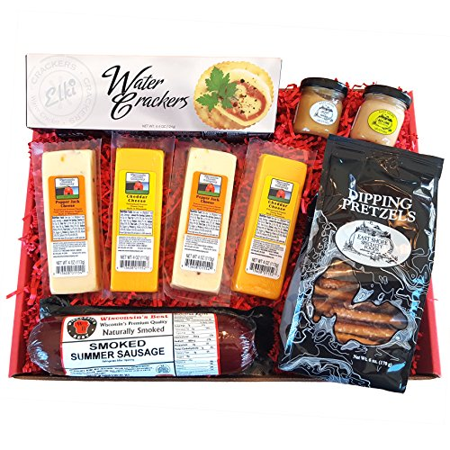 Specialty Gift Basket features Wisconsin