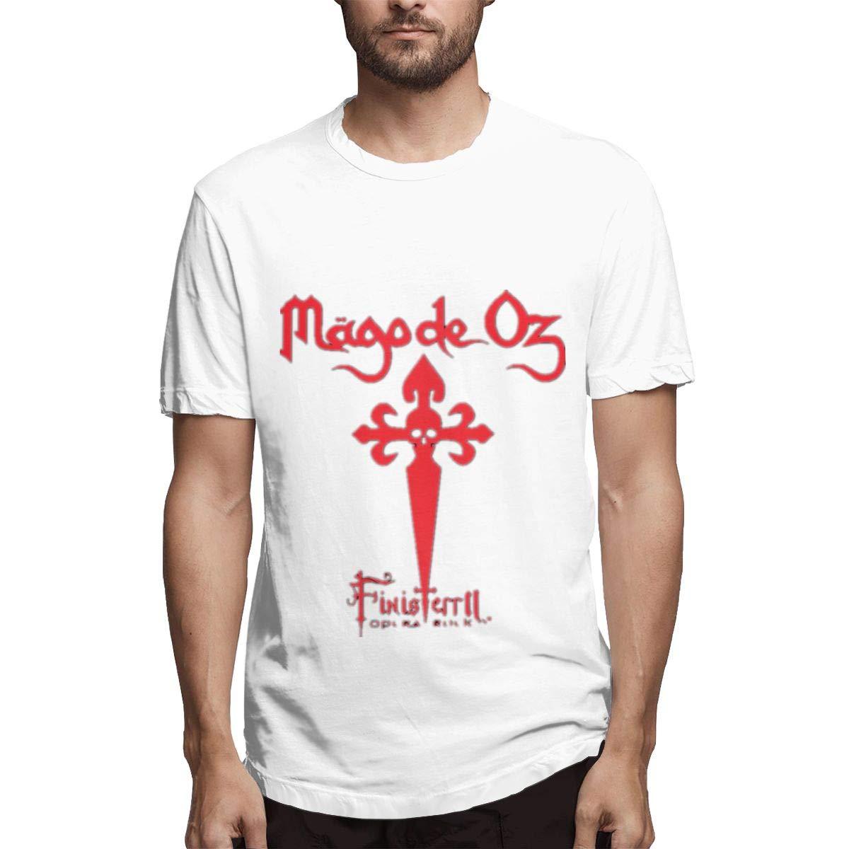 Lihehen S Mago De Oz Logo Round Neck Shirt