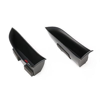 Vesul Black Front Row Door Side Storage Box Handle Armrest Phone Container Fits on Mercedes Benz C-Class C Class Coupe 2020 2020 2020: Automotive
