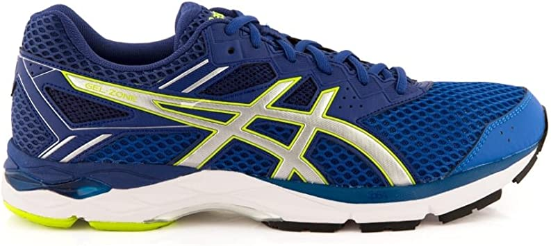 ASICS Gel-Zone 5 - Zapatillas de Running para Hombre (T71RQ), Classic Blue/Silver/Limoges, UK 6 / EU 40 / US 7 / CM 25.25: Amazon.es: Deportes y aire libre