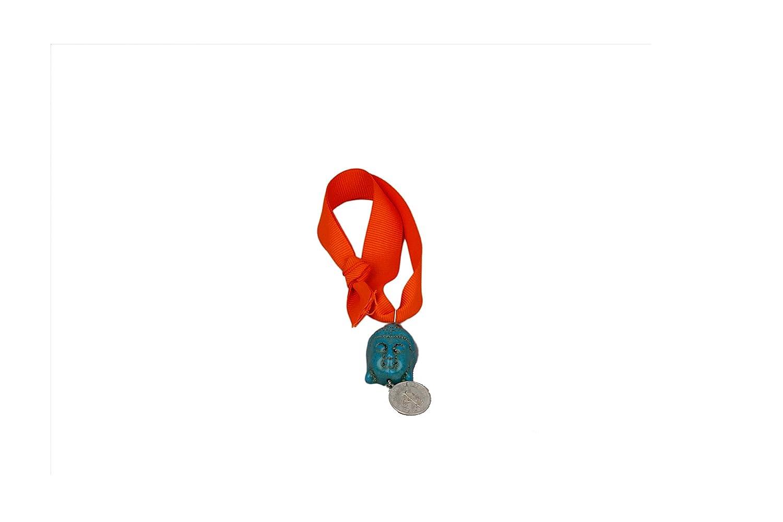 Peace & Silver Coin Bag Charm