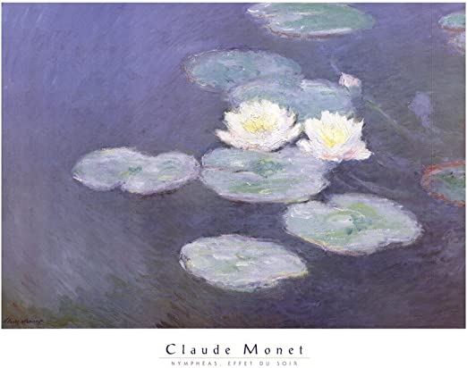 Nympheas Giclee Print Claude Monet Canvas Print Art Decoration Home Decor 8x10