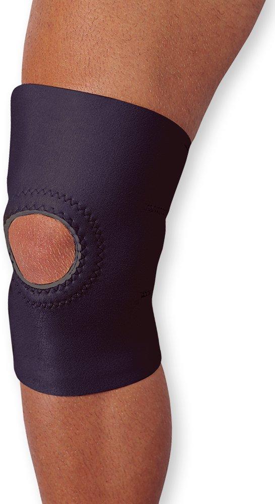 WellWear Neoprene Knee Stabilizer Open Patella, Small/Medium