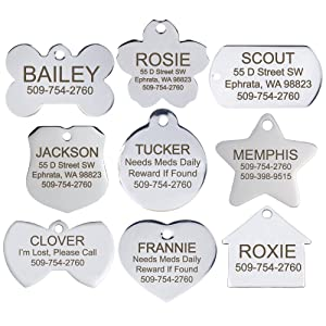 New Puppy Checklist: Stainless Steel Pet Id Tags