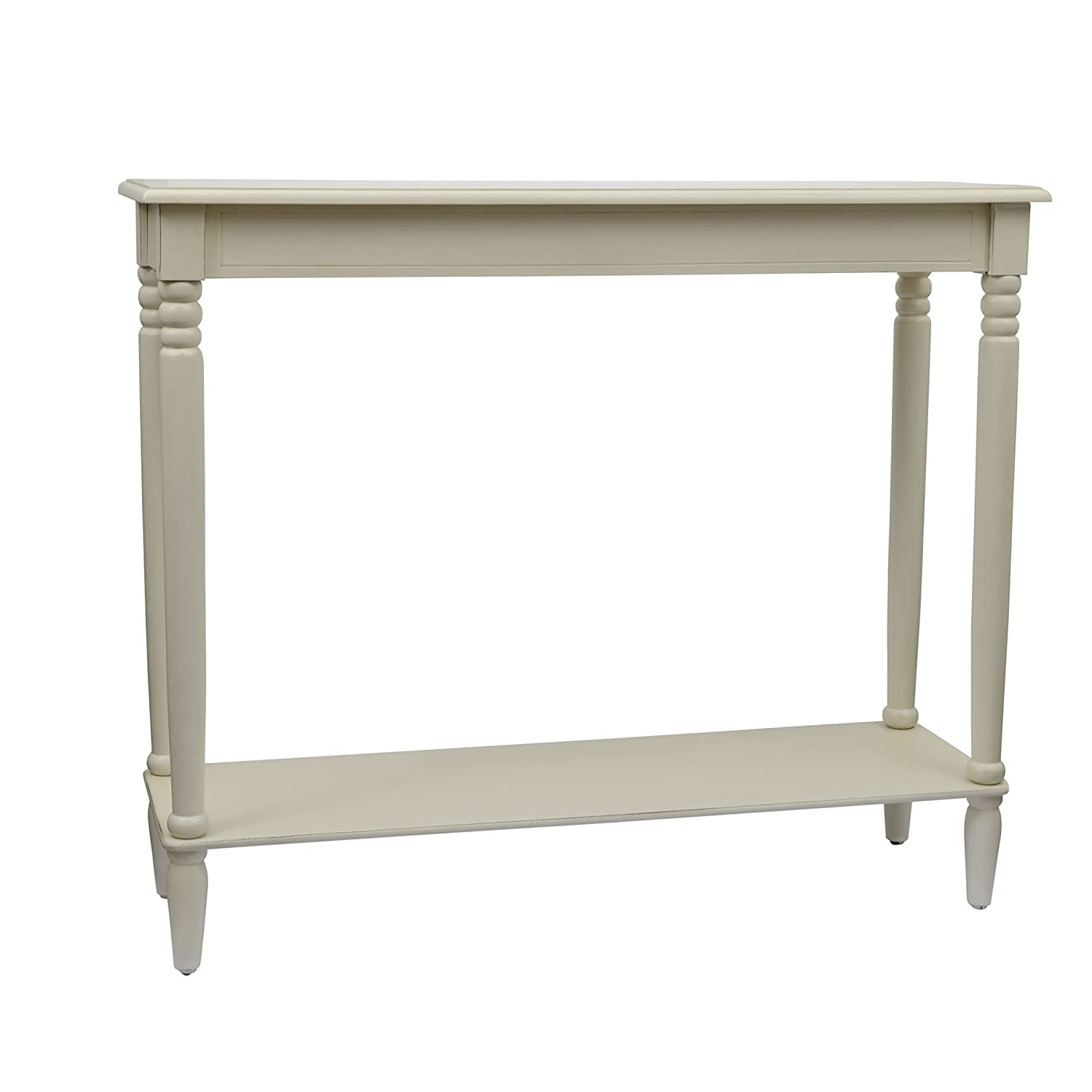 D cor Therapy FR1577 Simplify Large Console Table Antique White
