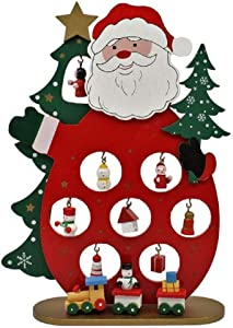 Kurt S. Adler 9.5-Inch Wooden Table Piece Santa, Multi