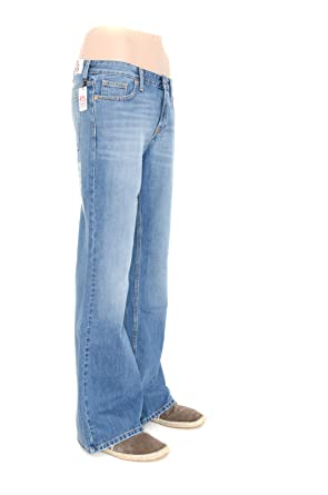 Mens Bootcut Flared Jeans Pure Style Jeans New York Light Blue 30 ...