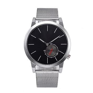 2018 Temperamento Elegante y Simple Reloj exitoso Reloj empresarial para Hombres y Mujeres: Amazon.es: Deportes y aire libre