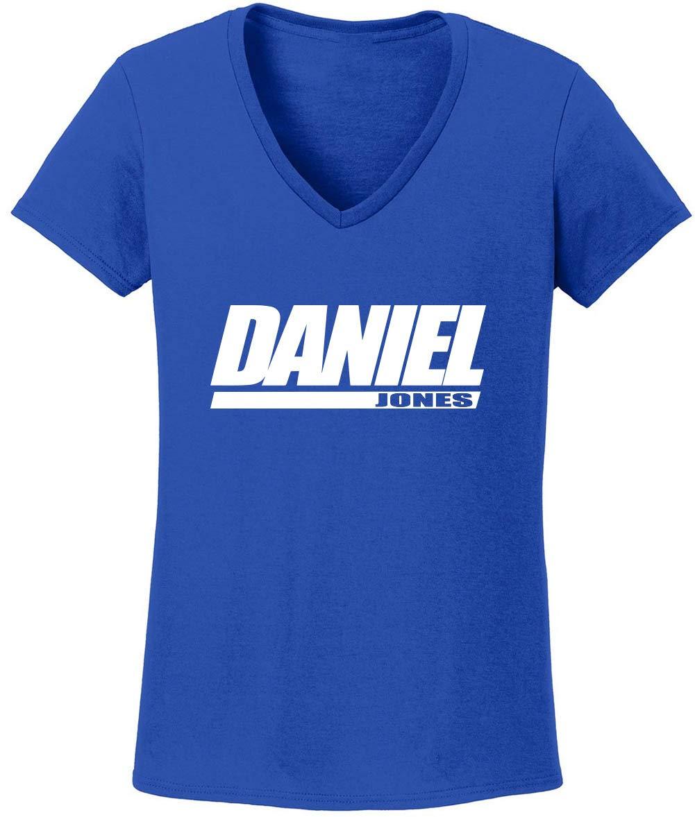 Blue New York Daniel Logo Vneck Tshirt