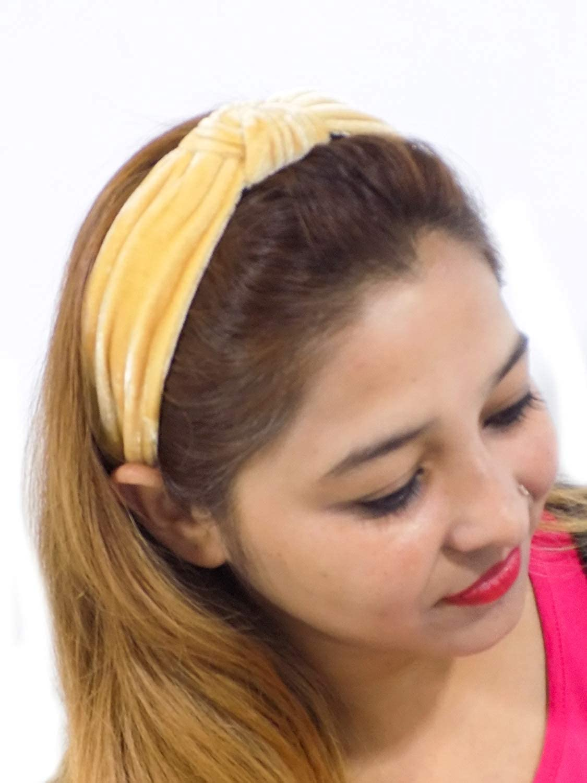 Cute Kids Baby Toddler Girls Soft Velvet Knot Turban Headband Hair Band Headwrap