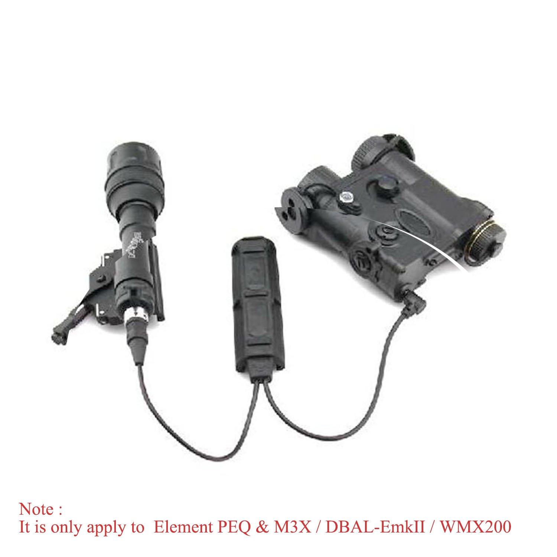 Night Evolution Remote Dual Pressure Switch for Weapon light and PEQ Gun Light NE07011-BK by Night evolution (Image #3)