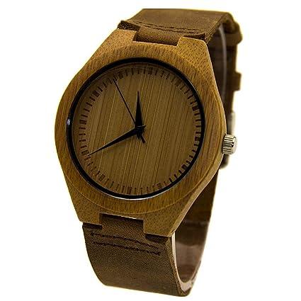 comprar online reloj de madera