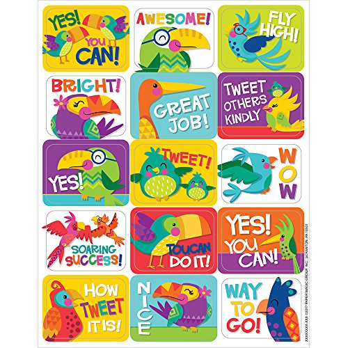 Eureka  You Can Toucan Stickers - Success