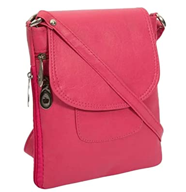 1176a7b1993065 Awesome Fashions Women's sling bag/side bag (pink): Amazon.in: Shoes ...