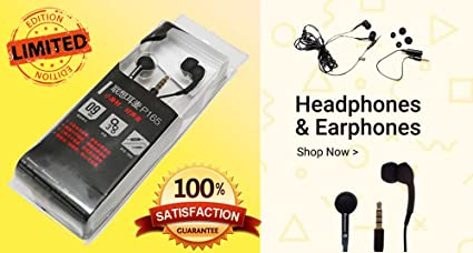 0a7a960f5d1 Amazon.in: Buy LENOVO in Ear Headset P165 (Black) Online at Low ...