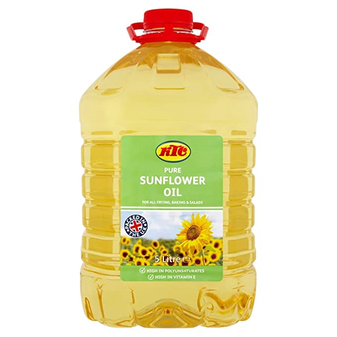 Ktc Sunflower Oil, 5 Litre: Amazon.co.uk: Grocery
