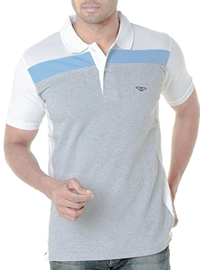 d86d874aeda WEXFORD Men s Cotton Half Sleeve Polo T-Shirt  Amazon.in  Clothing ...
