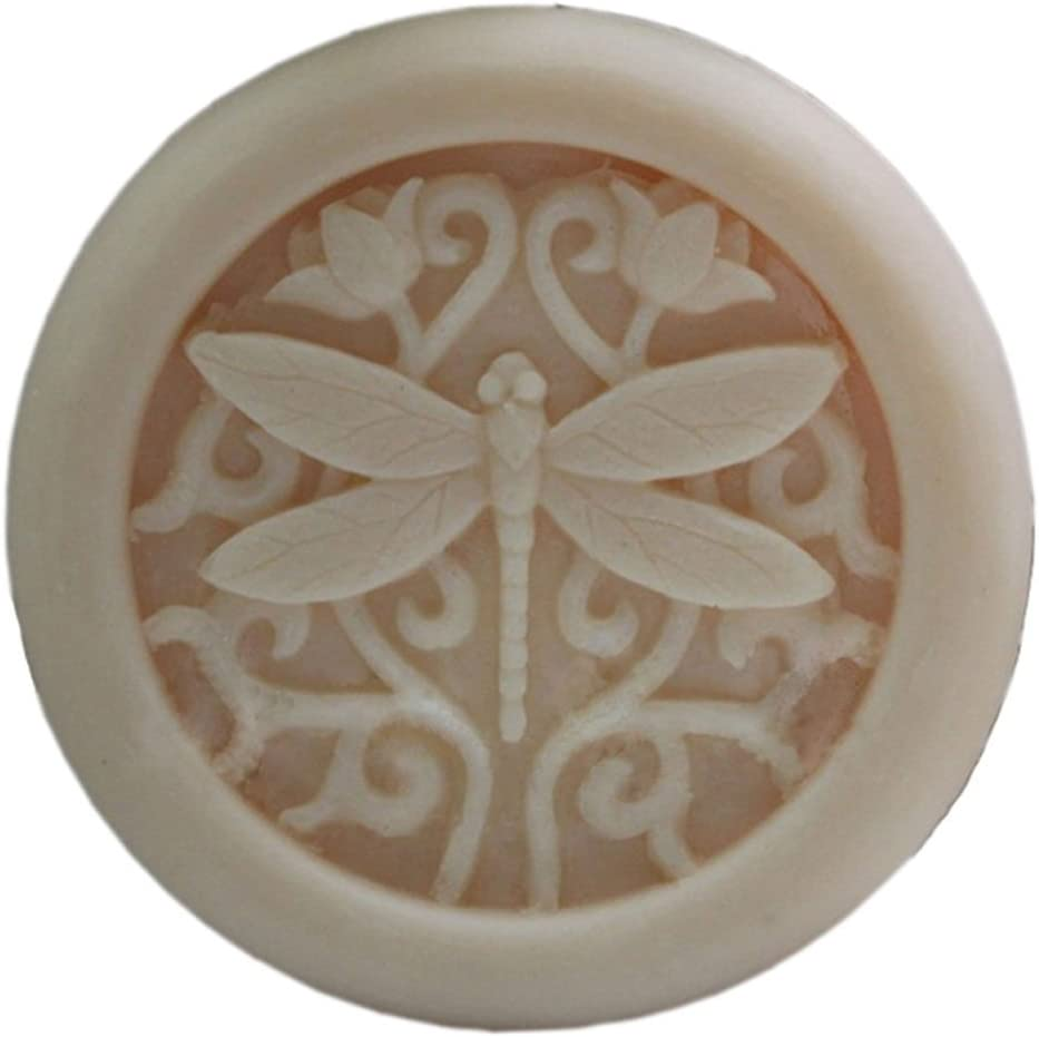 DIY Handmade soap molds Craft Art Silicone Soap molds Dragonfly Soap Making Mould