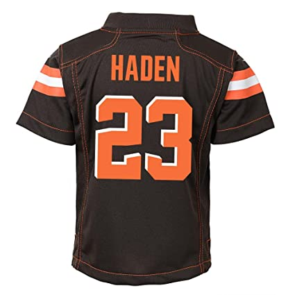 new concept 6b1d1 453bf Amazon.com : NIKE Joe Haden Cleveland Browns Home Brown ...