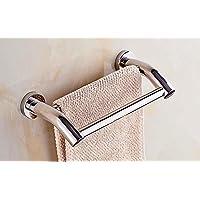 Dubbele Rail Handdoek Rek Wandmontage Handdoek RVS Bad Handdoek Houder Handdoek Hangende Rail voor Keuken of Badkamer
