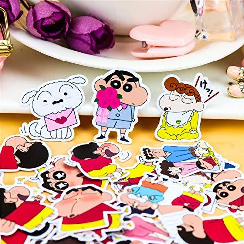 40pcs Creative Cute Self-Made Crayon Shin-chan nowara shnnosuke Scrapbooking stickers/Decorative/DIY Craft Photo Albums