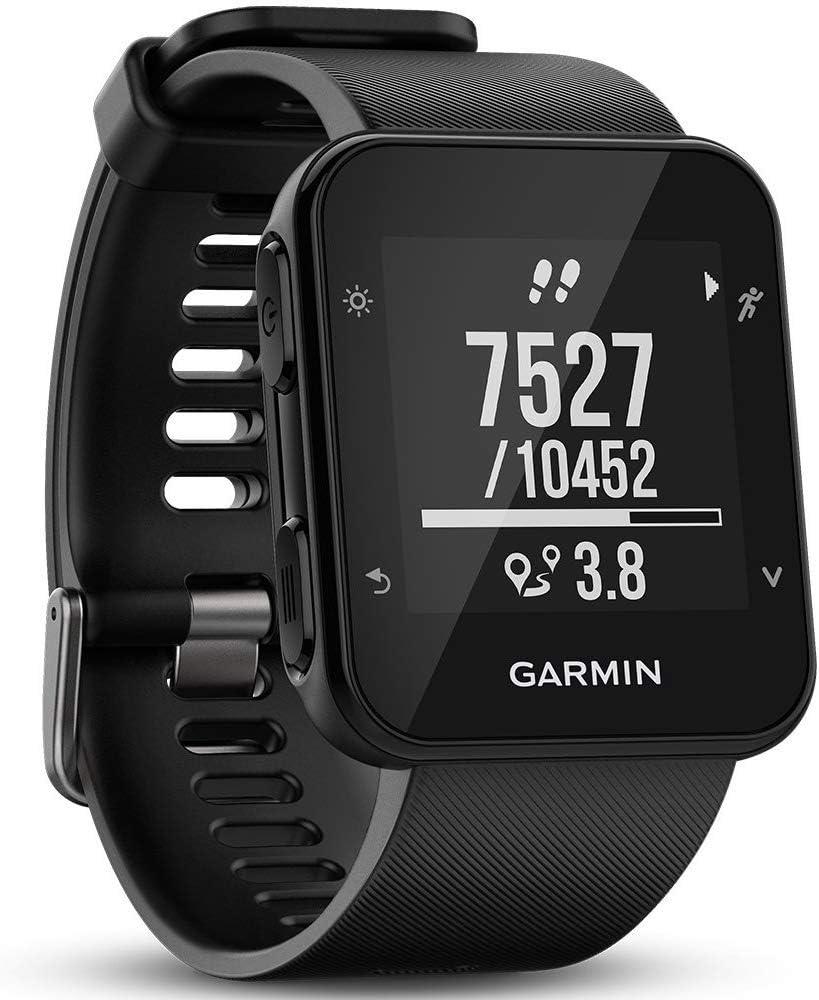 Garmin Forerunner 35- Reloj GPS con monitor de frecuencia cardiaca en la muñeca, monitor de actividad y notificaciones inteligentes