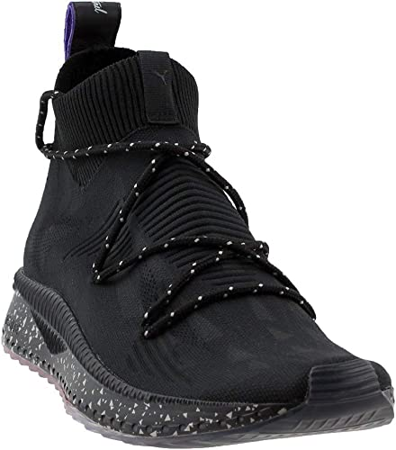 PUMA Men's Tsugi Evoknit Sock Naturel Ankle High Fabric Fashion Sneaker