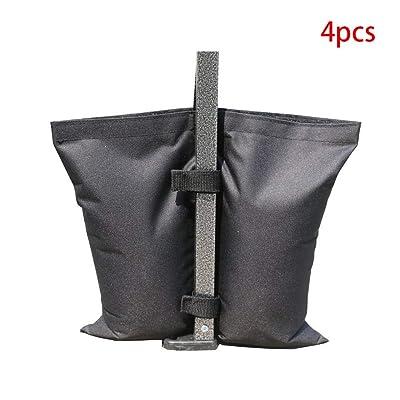 LAIWUSSY 4 Pack Industrial Grade Weight Bags, Garden Party Outdoor Tent Leg Weights for Pop Up Gazebo, Canopy, Tent : Garden & Outdoor